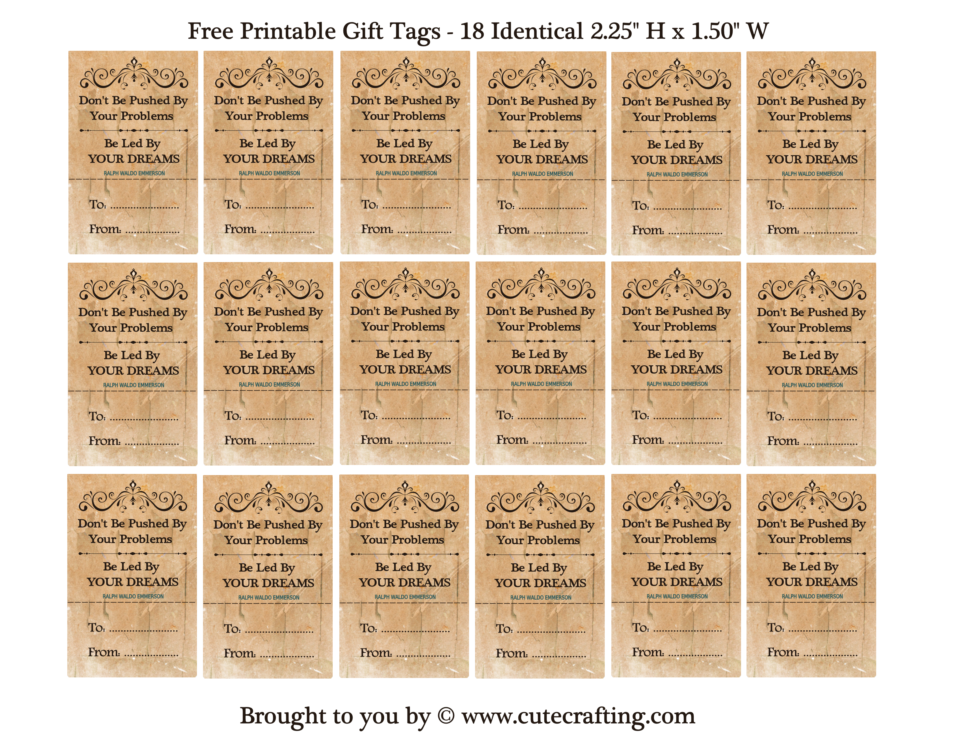 Free printable tags diy crafts birthday party favors no peeking tags negle Image collections