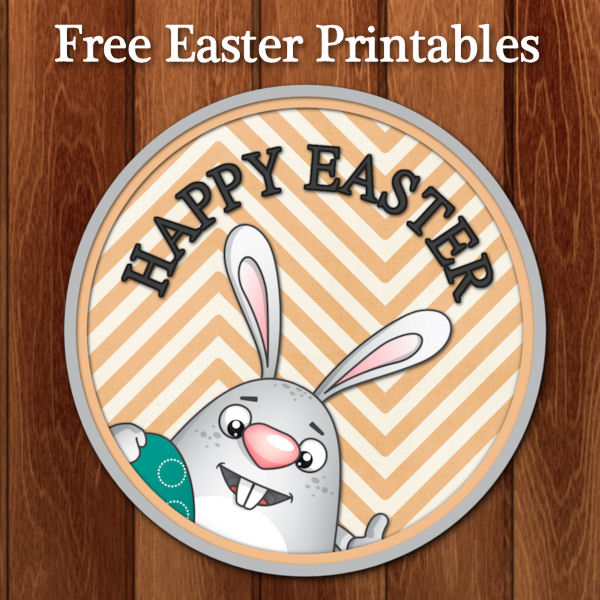 Diy free printable easter tags free printable easter gift tags negle Choice Image