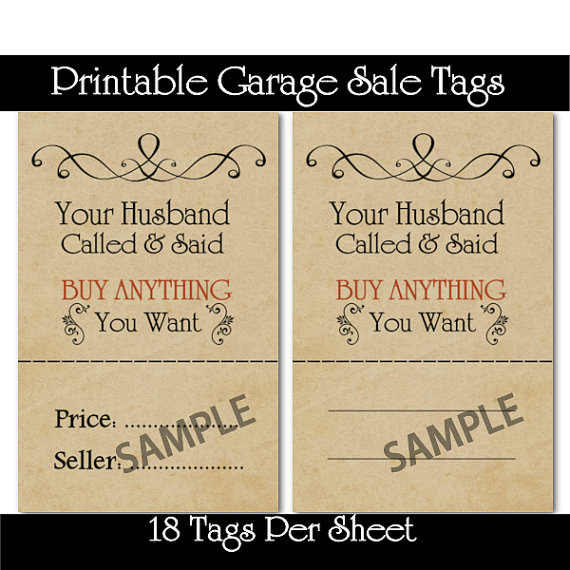 Printable Garage And Yard Sale Price Tags Tips On How To Make Your Own Beautiful  HD Wallpapers, Images Over 1000+ [ralydesign.ml]
