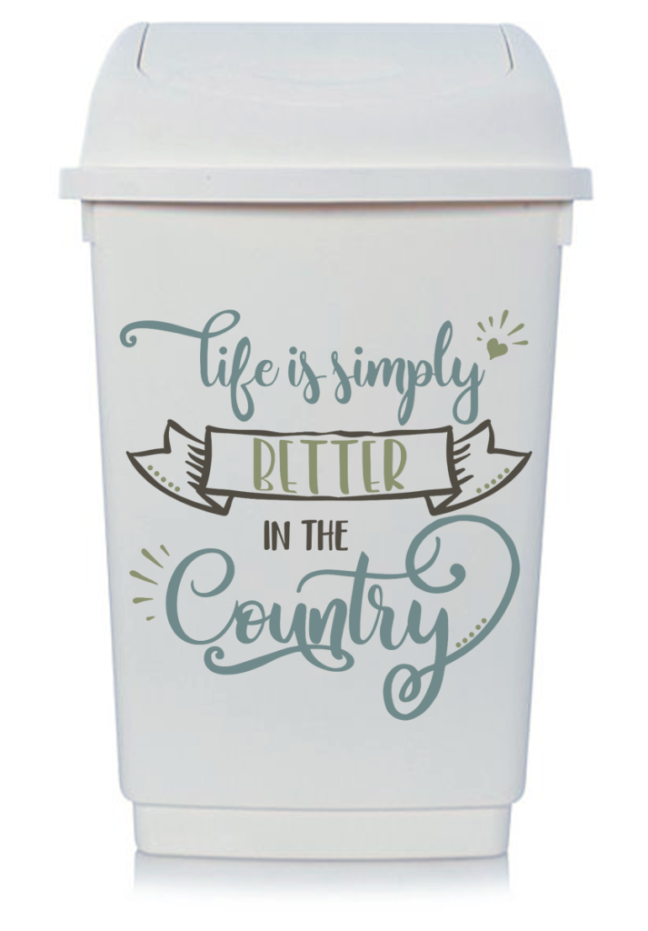 Free Life Is Simply Better In The Country Svg Cut File