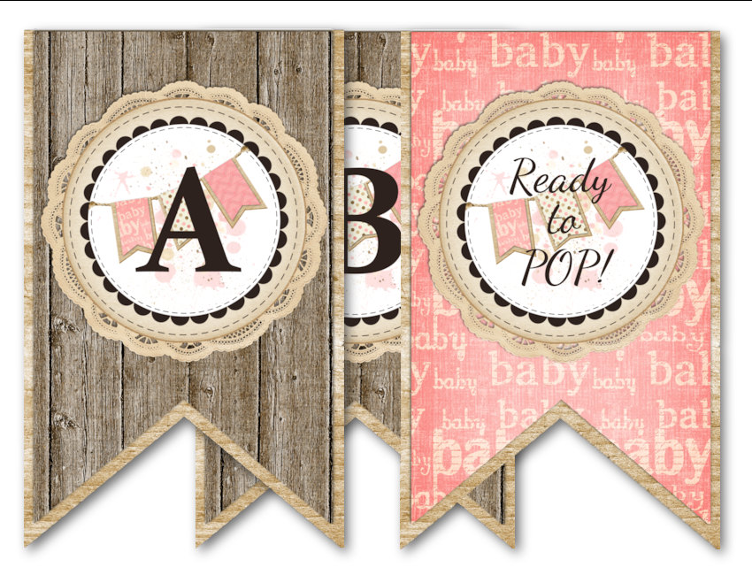Free Printable Baby Shower Party Favors