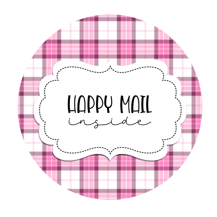 2inch-thistle-tartan-happy-mail-sticker