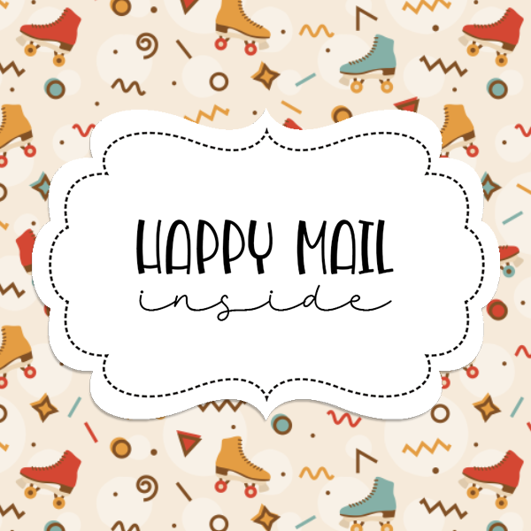 2inch-roller-skates-peach-happy-mail-sticker-square