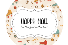 2inch-roller-skates-peach-happy-mail-sticker
