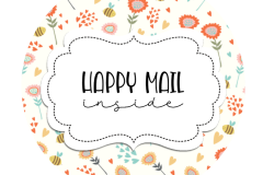 Spring-Girl-Fox-happy-mail-sticker