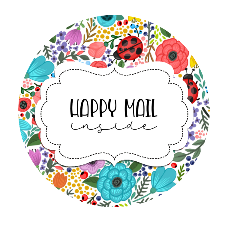 2inch-round-ladybug-flower-happy-mail-sticker