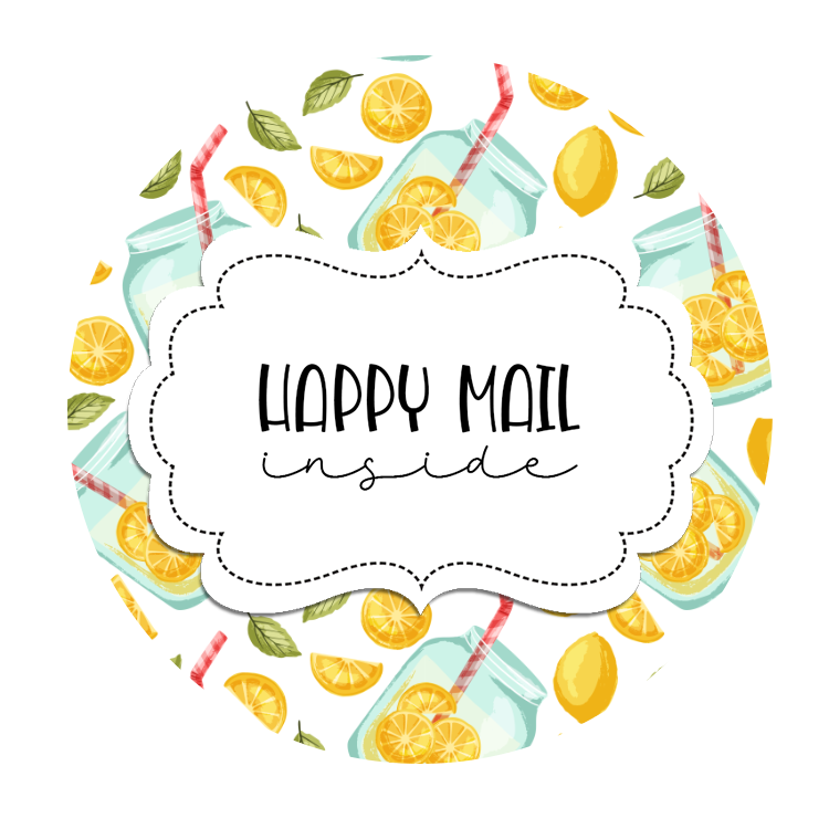2inch-round-lemonade-happy-mail-sticker