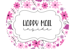 2inch-purple-pink-flowers-happy-mail-sticker
