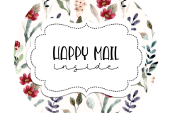 2inch-red-blue-tiny-flowers-happy-mail-sticker