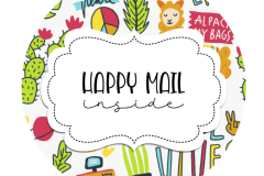 2inch-round-alpaca-doodles-happy-mail-sticker