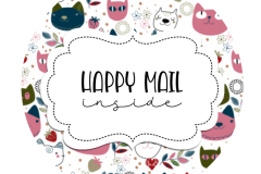 2inch-round-doodle-cats-4-happy-mail-sticker