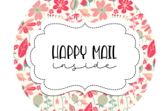 2inch-round-pink-fushia-flowers-happy-mail-sticker