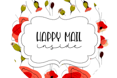 2inch-round-poppy-flowers-happy-mail-sticker