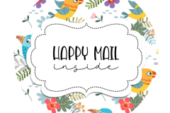 2inch-round-yellow-blue-bird-happy-mail-sticker