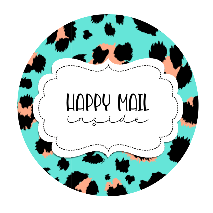 2inch-blue-black-leopard-happy-mail-sticker