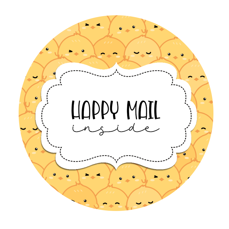 2inch-chicks-collage-happy-mail-sticker
