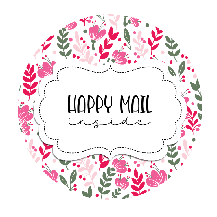 2inch-fushia-pink-flowerst-happy-mail-sticker