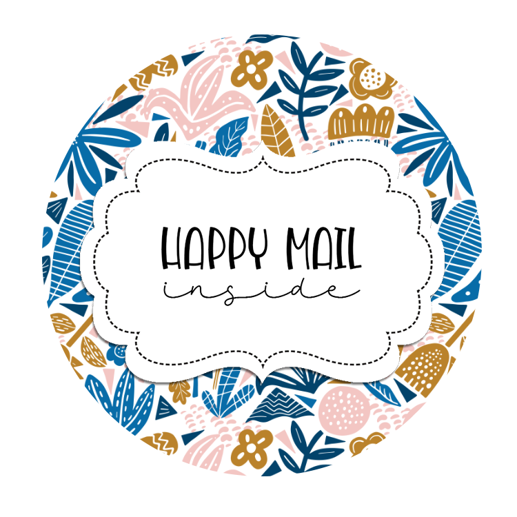 2inch-tan-blue-happy-mail-sticker