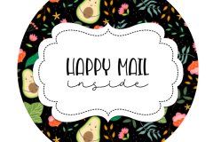 2inch-avacado-dark-bg-happy-mail-sticker