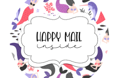 2inch-mermaid-happy-mail-sticker