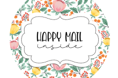 2inch-pretty-pastel-flowers-mint-happy-mail-sticker