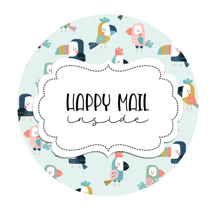 2inch-cute-parrot-happy-mail-sticker