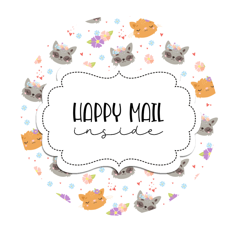2inch-cute-woodland-critter-faces-happy-mail-stickers
