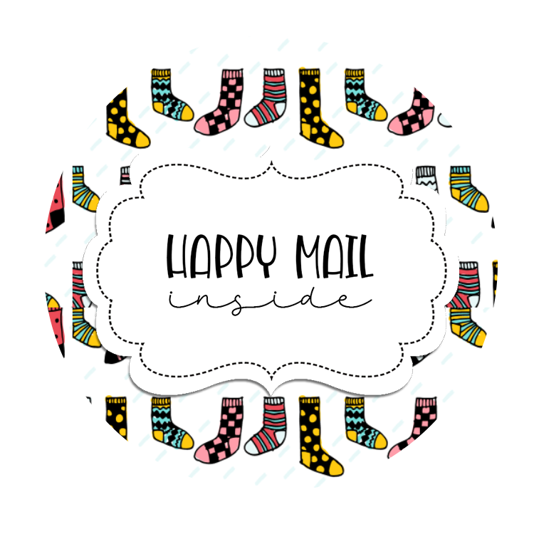 2inch-funny-socks-happy-mail-sticker